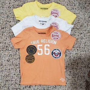 True Religion boys Graphic Tee bundle